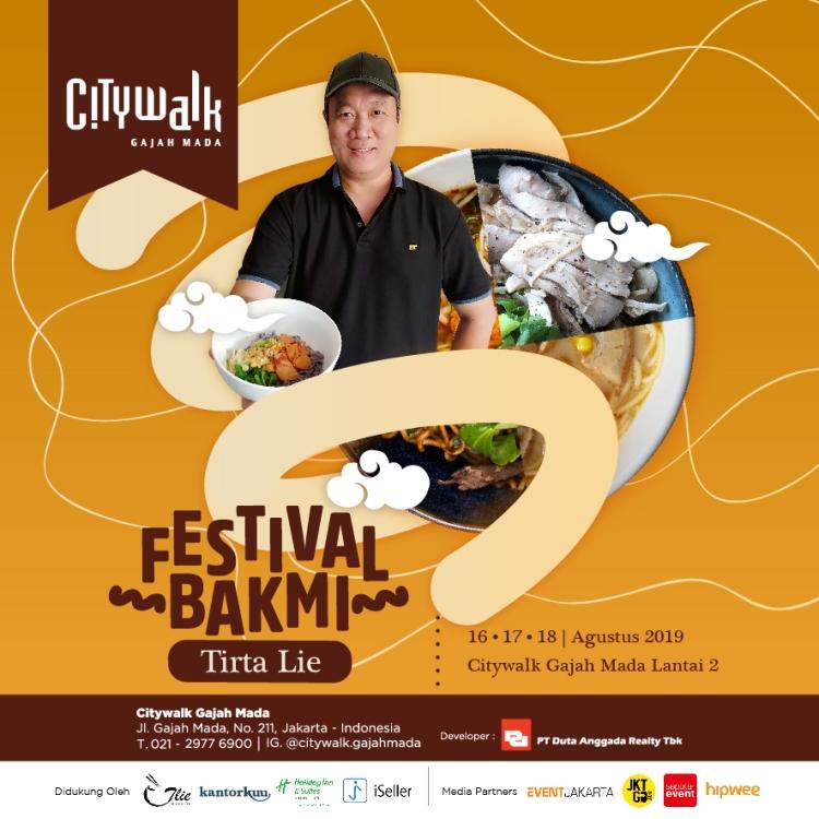 Festival Bakmi Tirta Lie Gandeng iSeller
