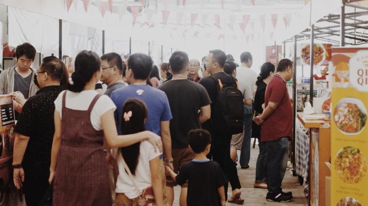 Kermaian Festival Bakmi Tirta Lie