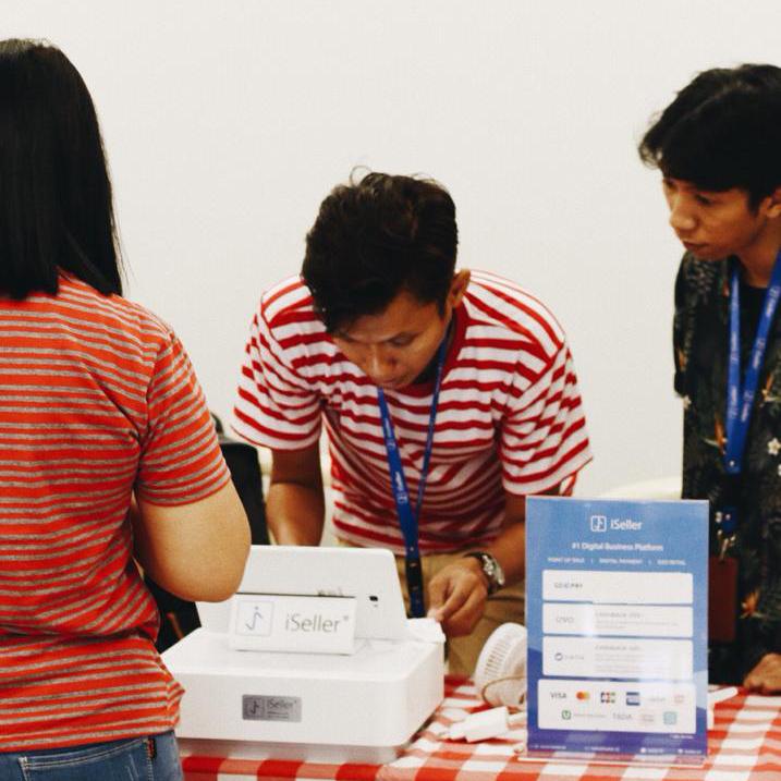 Festival Bakmi Tirta Lie dapat menerima berbagai metode pembayaran dalam 1 alat dengan iSeller